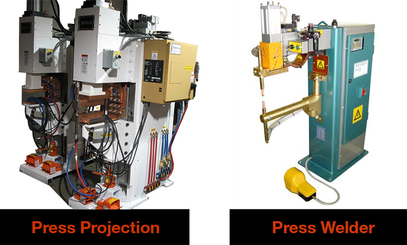 Press Projection and Welder
